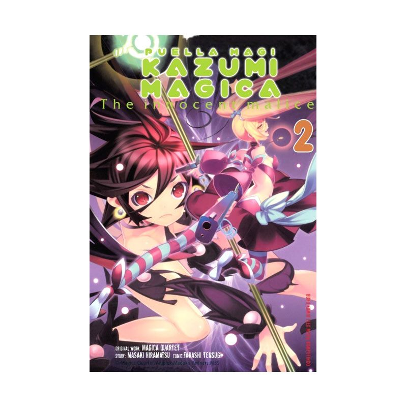 Grazera Puella Magi Kazumi Magica Vol 02 by Tensugi Takashi & Magica Quartet Buku Komik