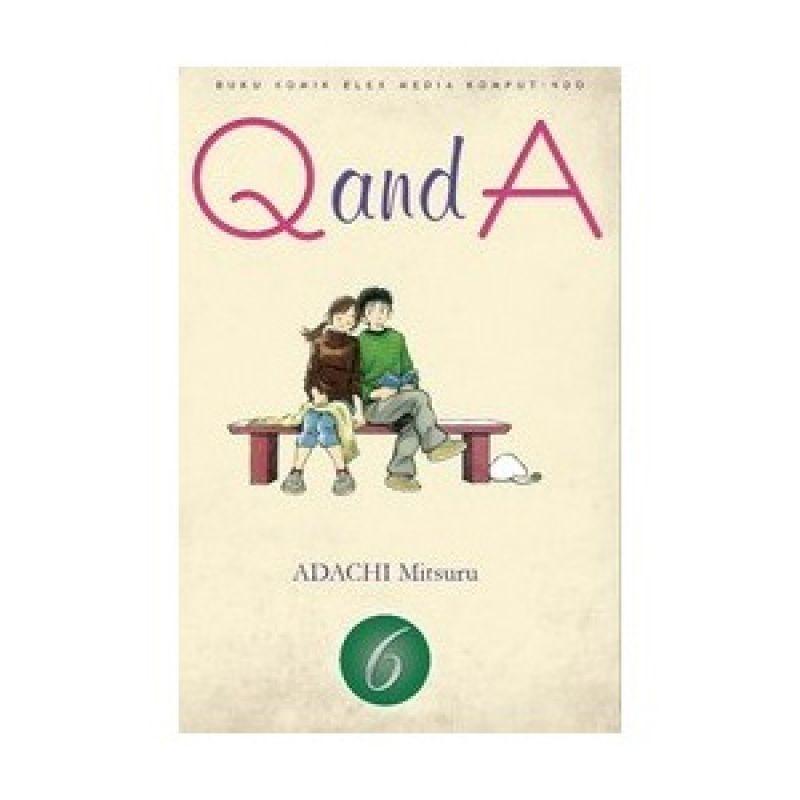 Grazera Q and A Vol 6 by Adachi Mitsuru Buku Komik