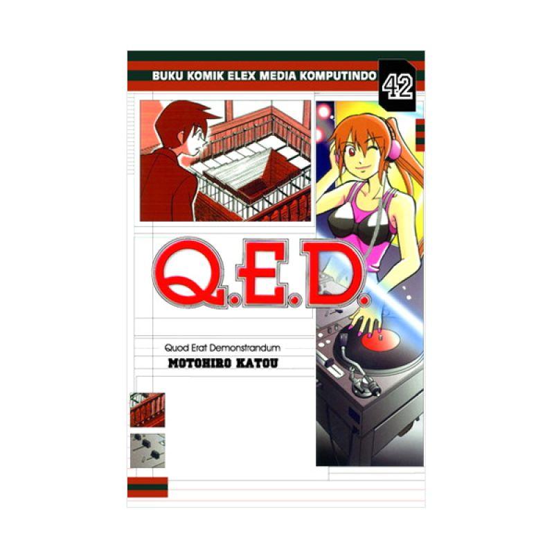 Grazera Q.E.D Vol 42 by Motohiro Katou Buku Komik
