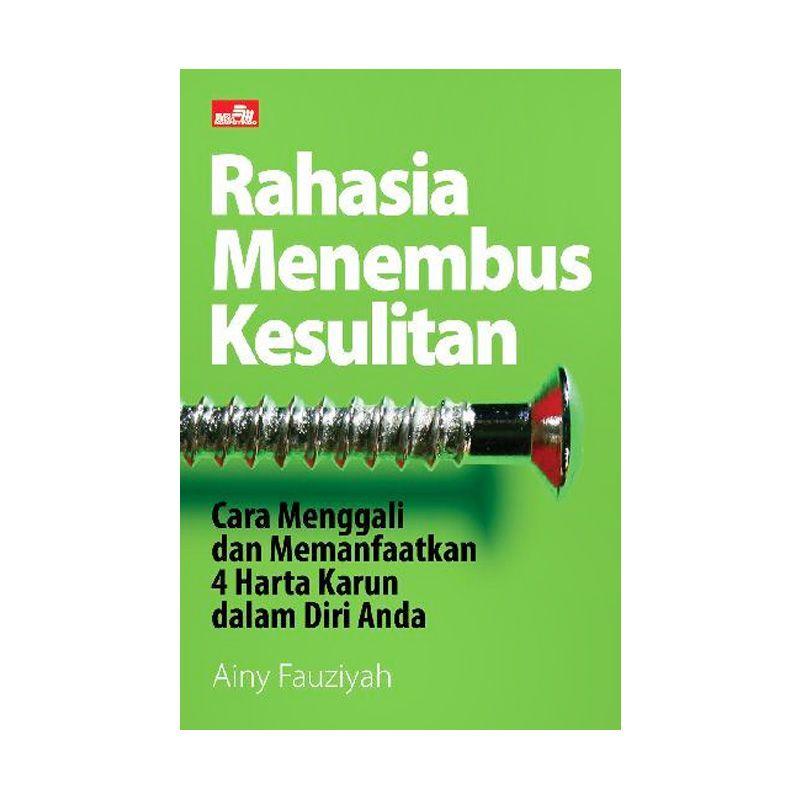 Grazera Rahasia Menembus Kesulitan by Ainy Fauziyah Buku Ekonomi & Bisnis