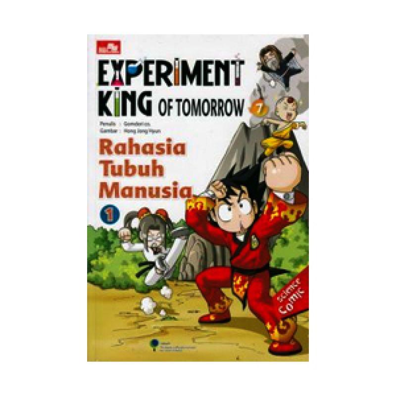 Grazera Rahasia Tubuh Manusia Vol 1 by Gomdori Co Buku Komik