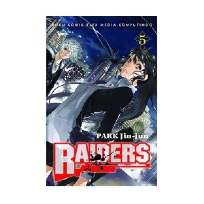 Grazera Raiders Vol 05 by Park Jin-Jun Buku Komik