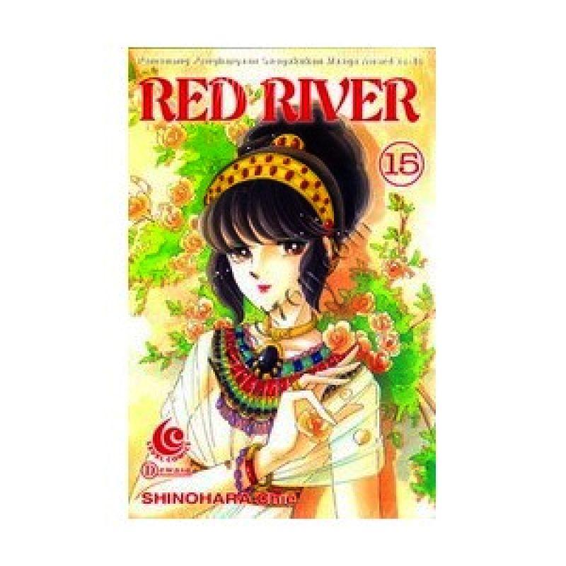 Grazera Red River Vol 15 by Shinohara Chie Buku Komik