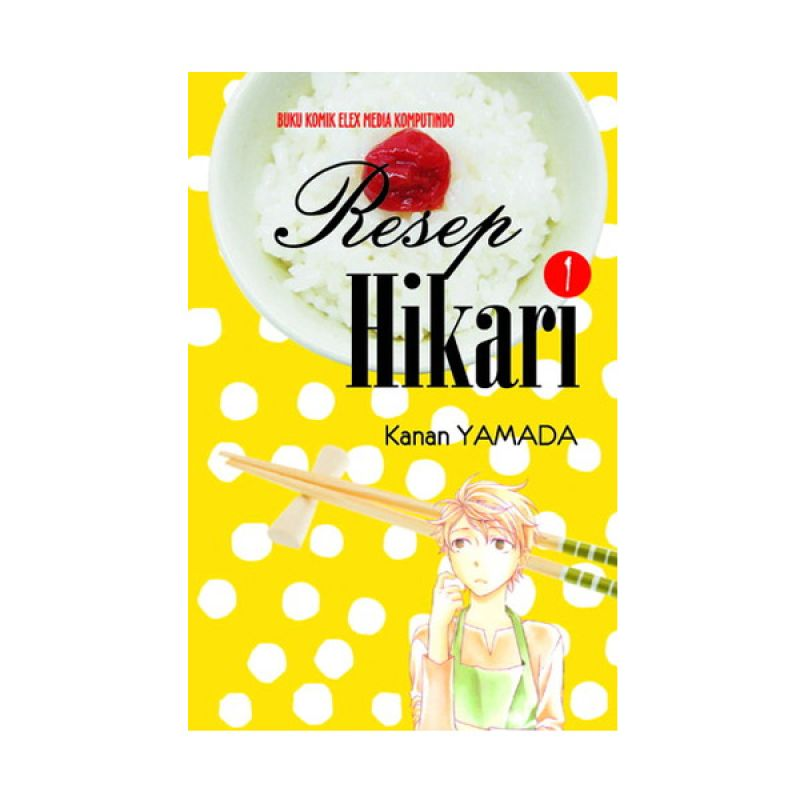 Grazera Resep Hikari Vol 01 by Kanan YAMADA Buku Komik