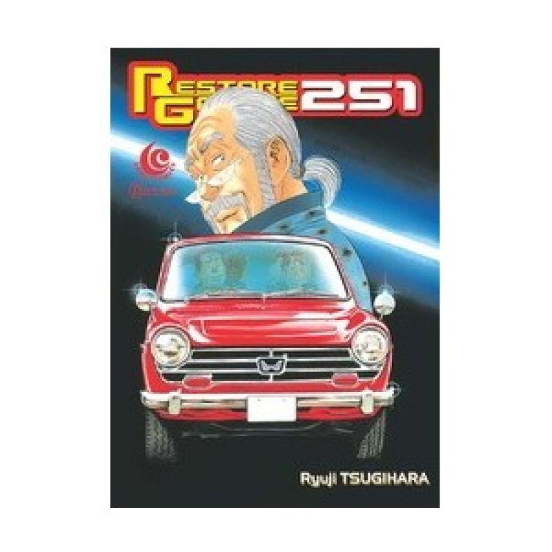 Grazera Restore Garage Vol 15 By Ryuji Tsugihara Buku Komik