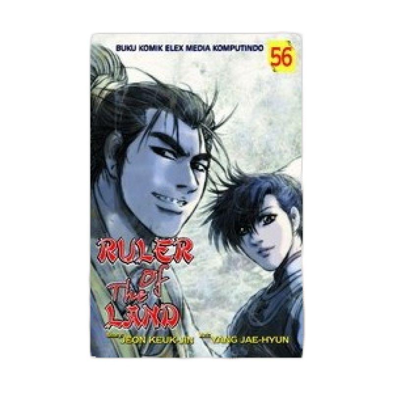 Grazera Ruler Of The Land Vol 56 by Jeon Keuk-Jin Buku Komik