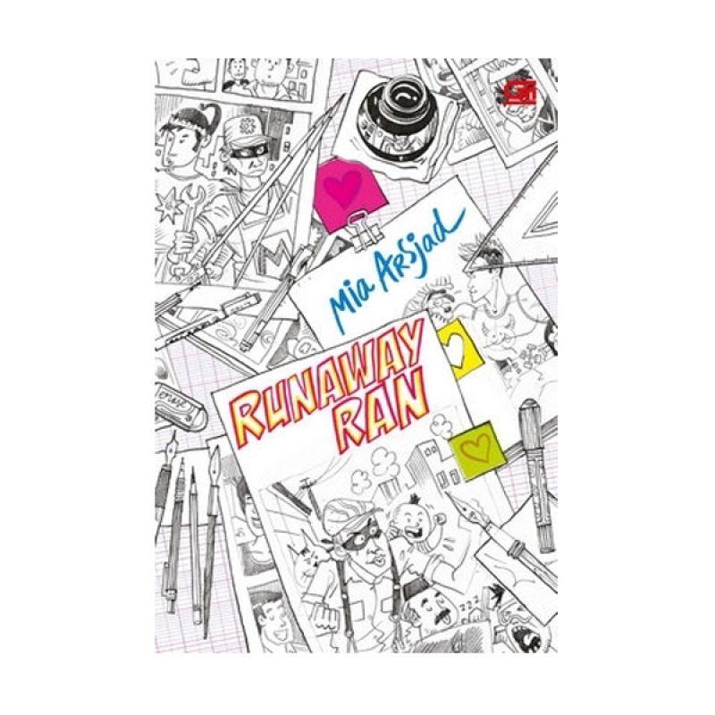 Grazera Runaway Ran by Mia Arsjad Buku Fiksi