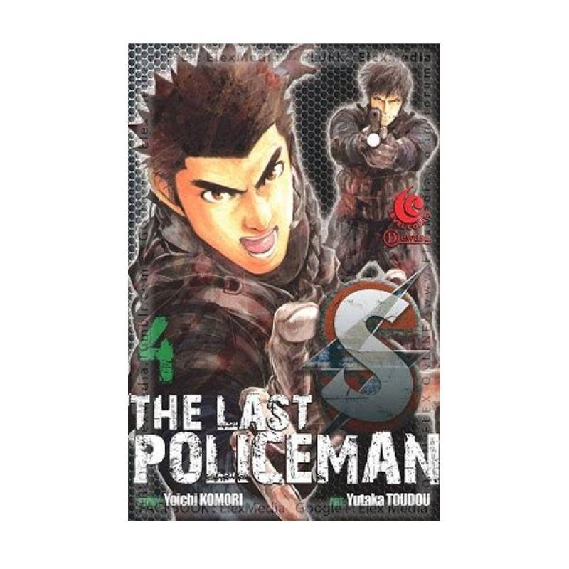 Grazera S The Last Policeman Vol 04 By Yoichi Komori Buku Komik