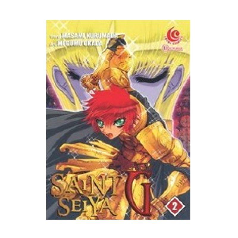 Grazera Saint Seiya Episode G Vol 02 by Masami Kurumada Buku Komik