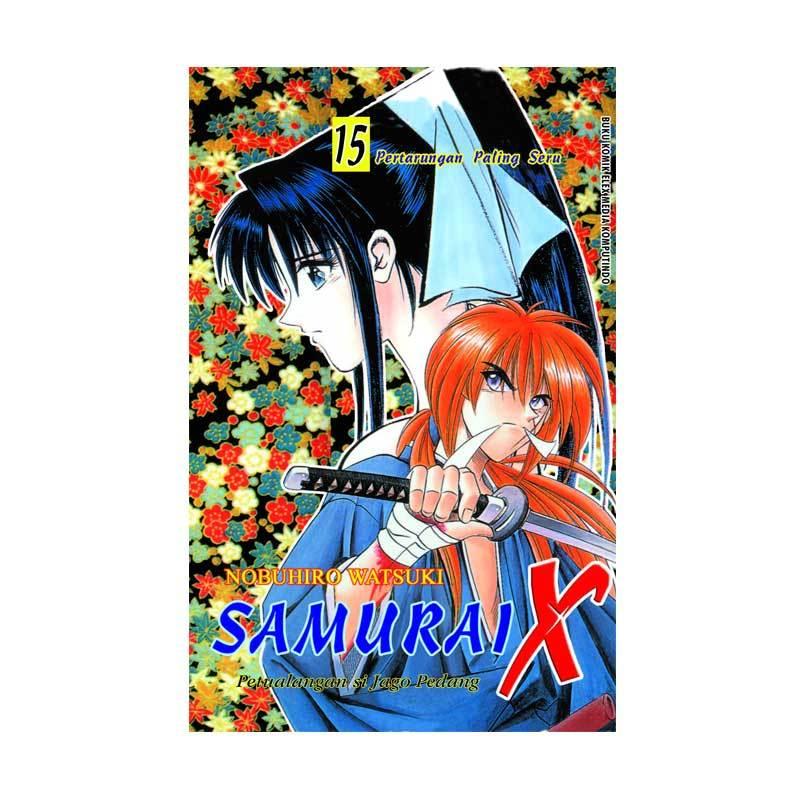 Grazera Samurai X Vol. 15 Terbit Ulang By Nobuhiro Watsuki Buku Komik