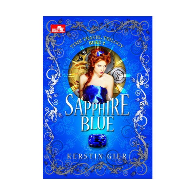 Grazera Sapphire Blue by Kerstin Gier Buku Fiksi