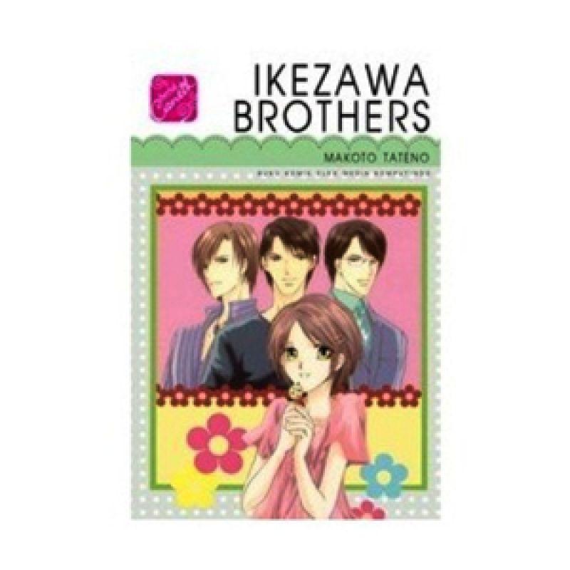 Grazera SC Ikezawa Brothers by Makoto Tateno Buku Komik