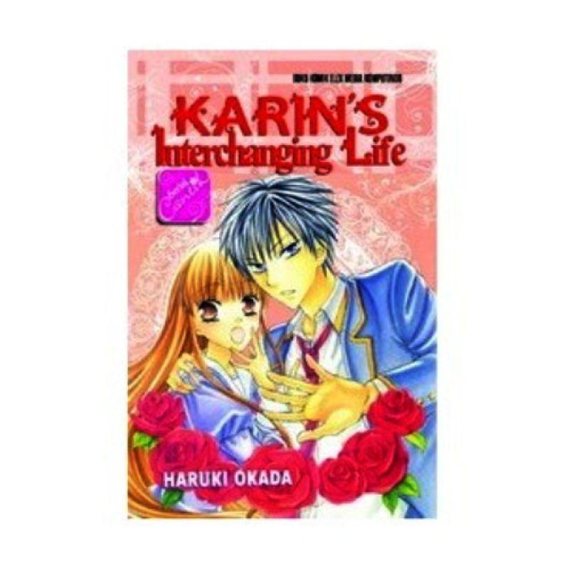 Grazera SC Karins Interchanging Life by Haruki Okada Buku Komik