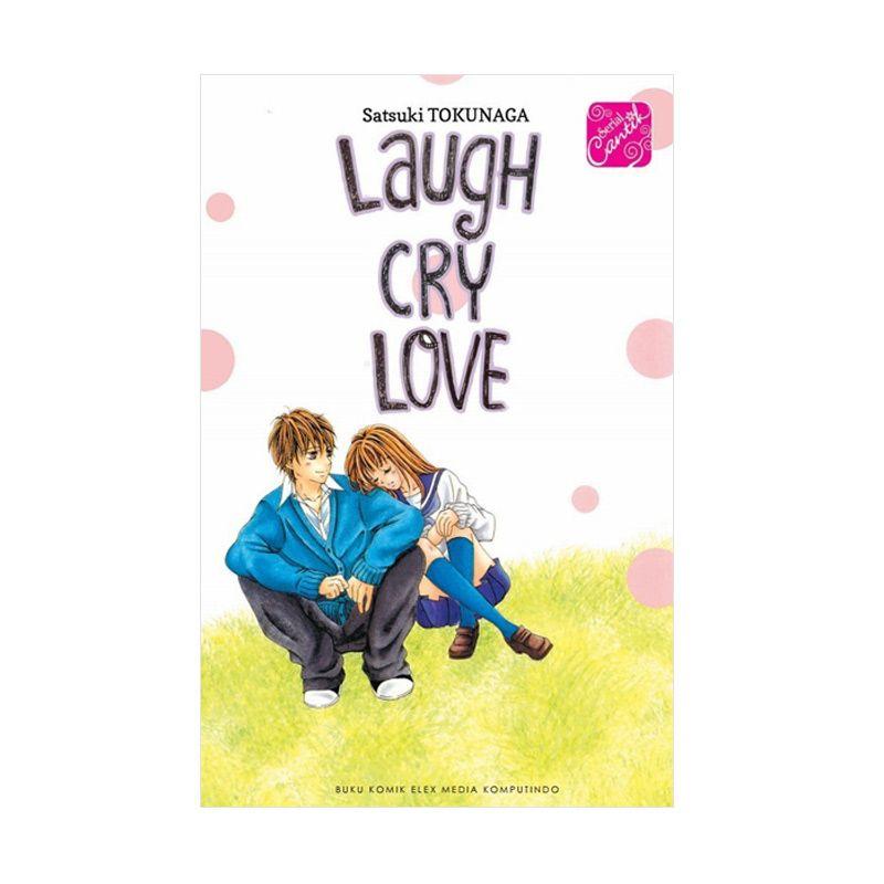 Grazera SC Laugh Cry Love By Satsuki Takunaga Buku Komik