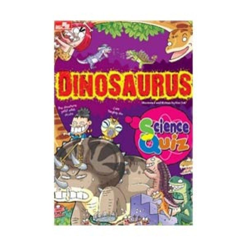 Grazera Science Quiz Dinosaurus by Kim Suk Buku Fiksi