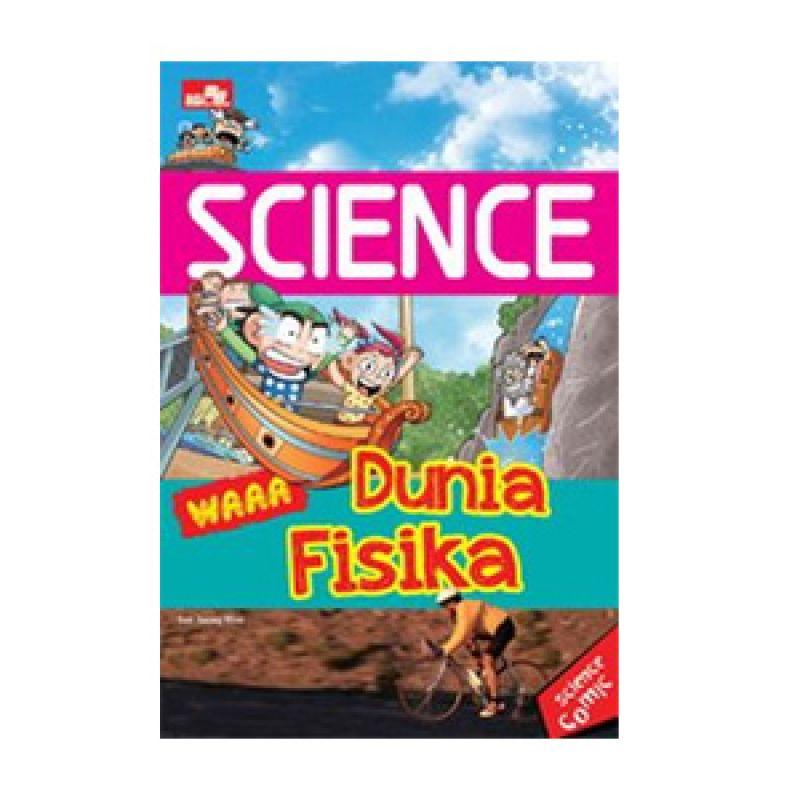 Grazera Science Waa Dunia Fisika by Son Jeong Woo Buku Komik