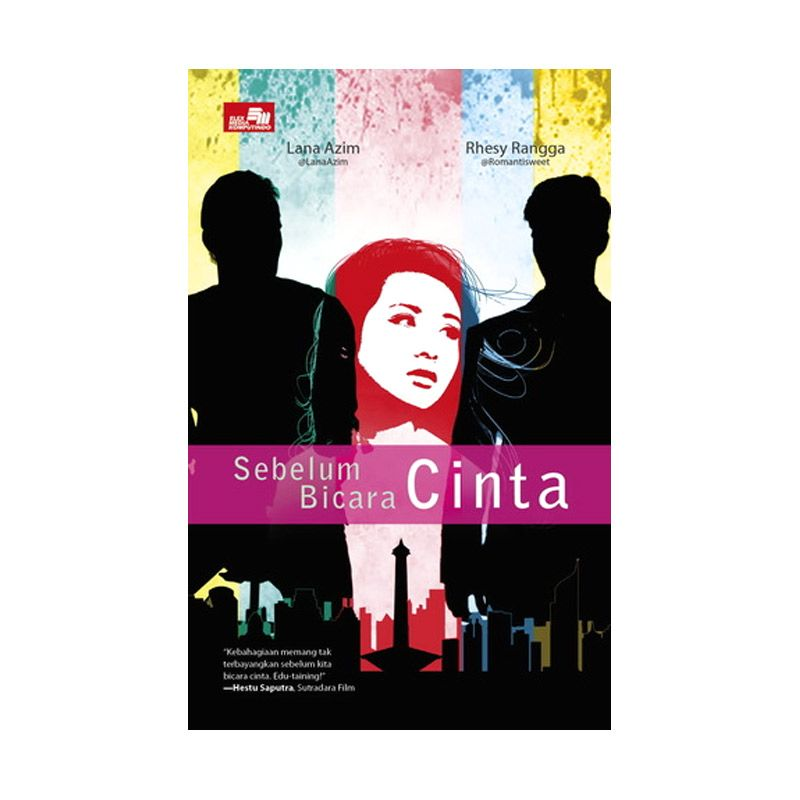 Grazera Sebelum Bicara Cinta by Lana Azim & Rhesy Rangga Buku Fiksi