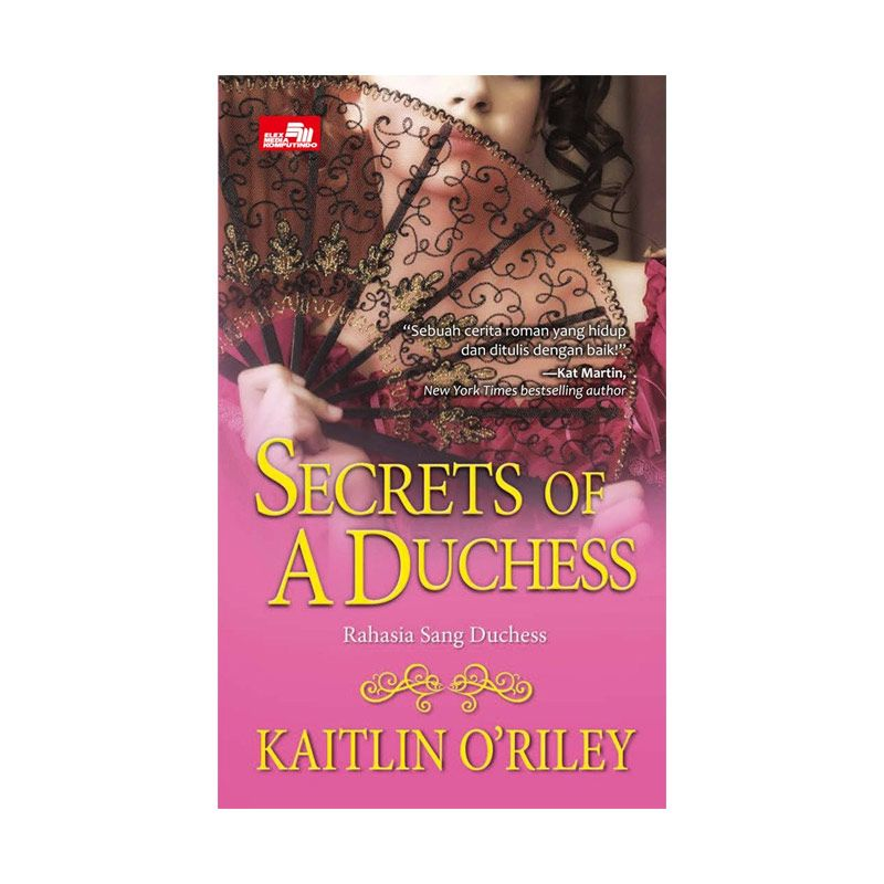 Grazera Secret Of A Duchess by Kaitlin O`Riley Buku Fiksi