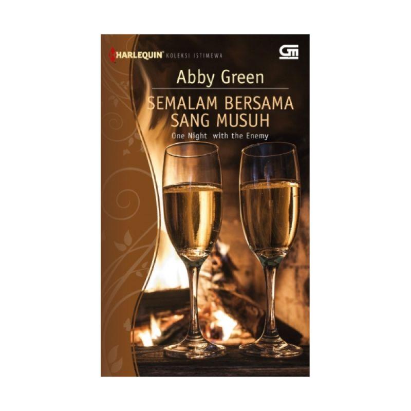 Grazera Semalam Bersama Sang Musuh by Abby Green Buku Fiksi