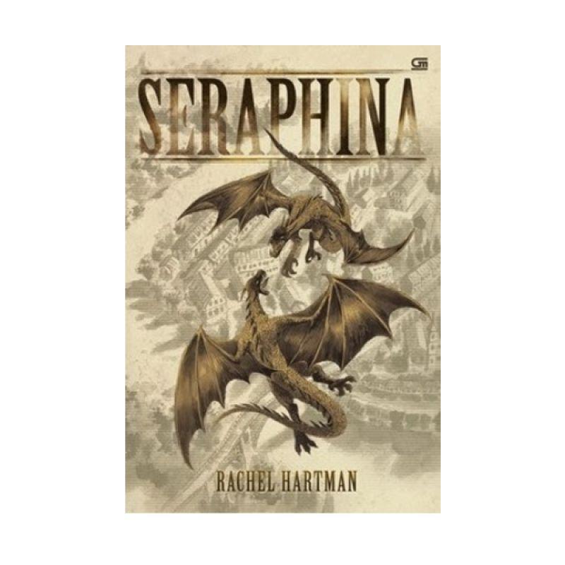 Grazera Seraphina by Rachel Hartman Buku Fiksi