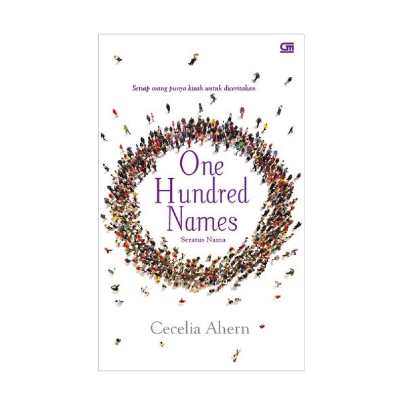 Grazera Seratus Nama One Hundred Names by Cecelia Ahern Buku Fiksi