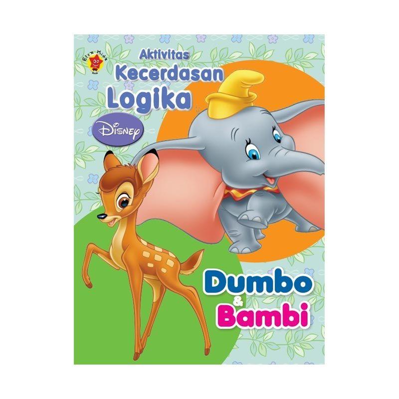 Grazera Seri Kecerdasan Logika Disney Dumbo & Bambi by Disney Buku Pengembangan Diri