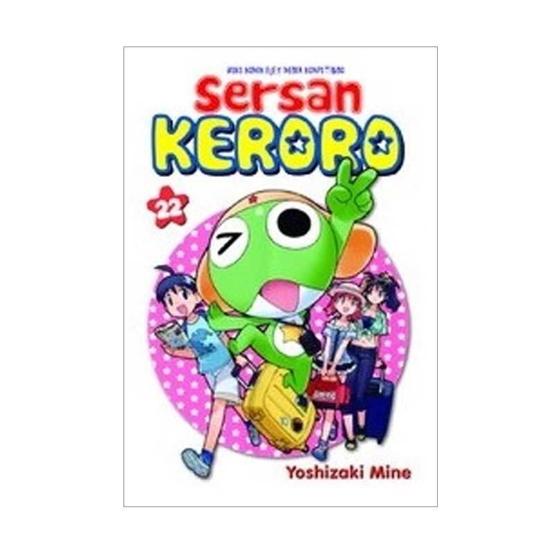 Grazera Sersan Keroro Vol 22 by Yoshizaki Mine Buku Komik