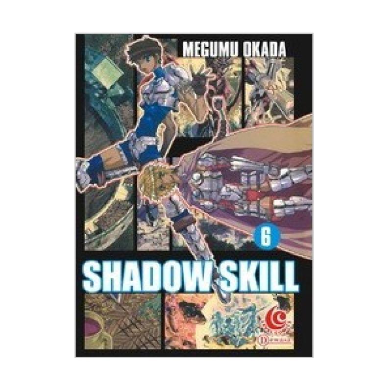 Grazera Shadow Skill Vol 06 by Megumu Okada Buku Komik
