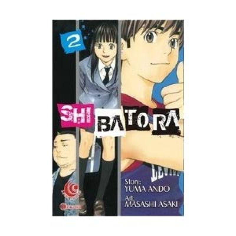 Grazera Shibatora Vol 2 by Masashi Asaki Buku Komik