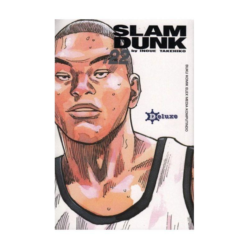 Grazera Slam Dunk Vol 22 by Takehiko Inoue Buku Komik [Deluxe]