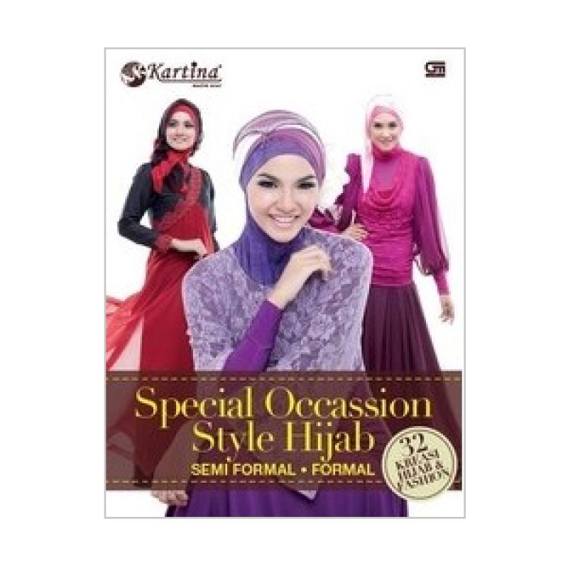 Grazera Special Occassion Style Hijab Semi Formal-Formal by Kartina Elfa Buku Hobi
