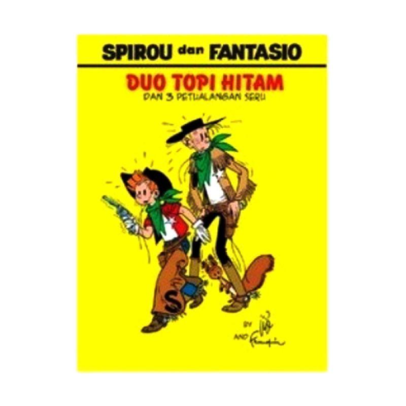 Grazera Spirou and Fantasio Duo Topi Hitam by Franquin Buku Komik