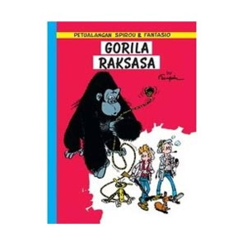 Grazera Spirou Gorila Raksasa By Franquin Buku Komik