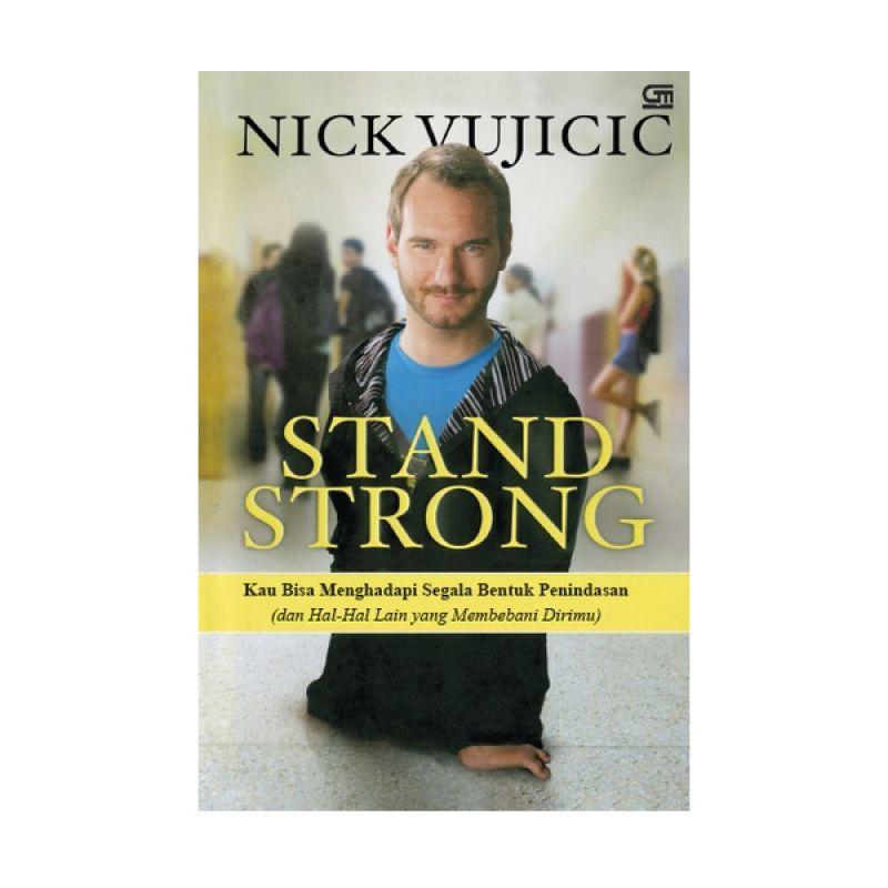 Grazera Stand Strong oleh Nick Vujicic Buku Biografi