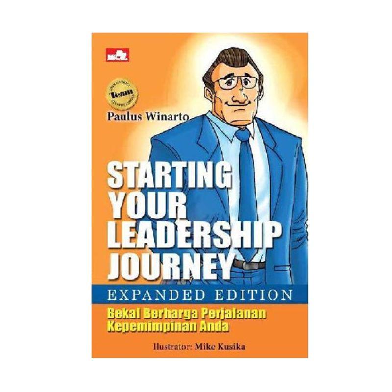 Grazera Starting Your Leadership Journey by Paulus Winarto Buku Ekonomi & Bisnis [Expanded Edition]