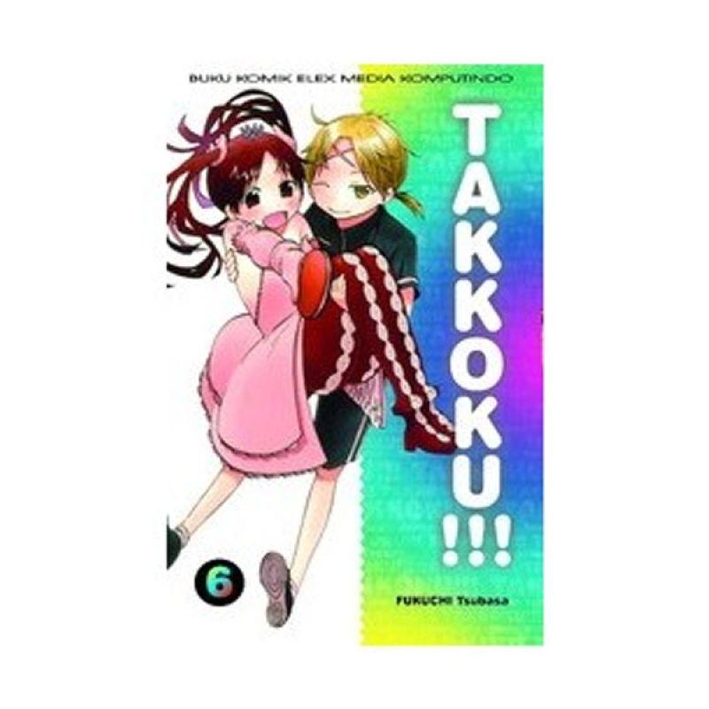 Grazera Takkoku! Vol 06 by Fukuchi Tsubasa Buku Komik