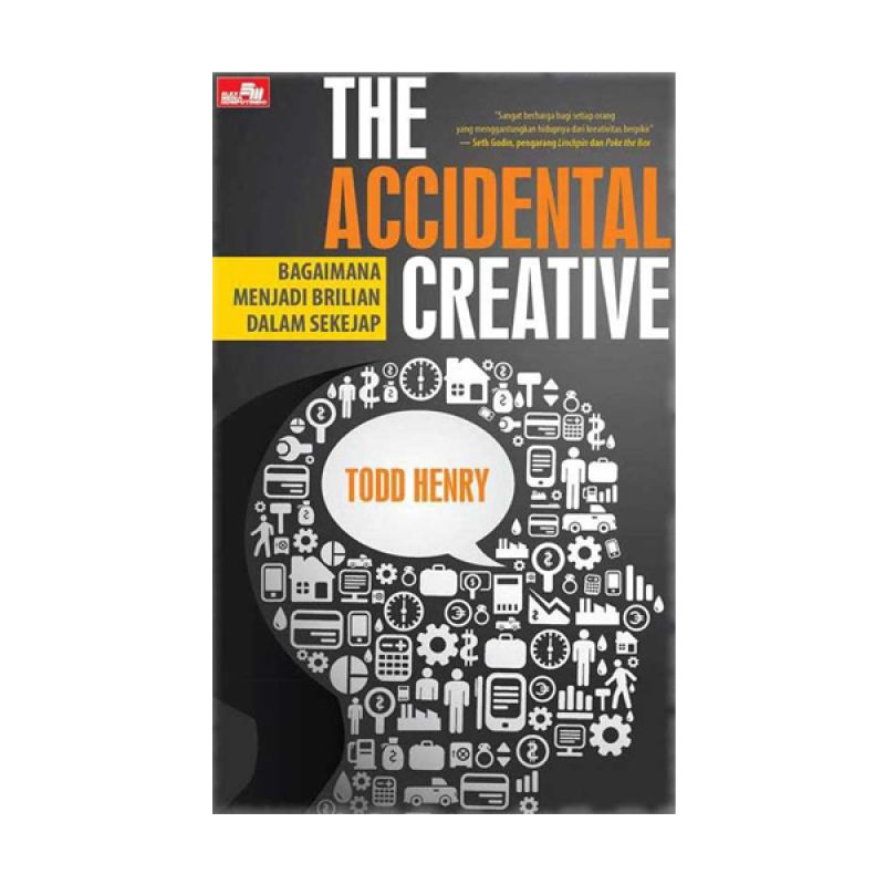 Grazera The Accidental Creative by Todd Henry Buku Ekonomi & Bisnis