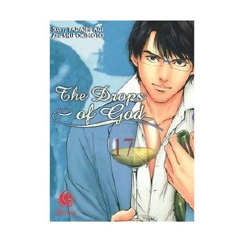 Grazera The Drops of God Vol 17 by Tadashi Agi Buku Komik