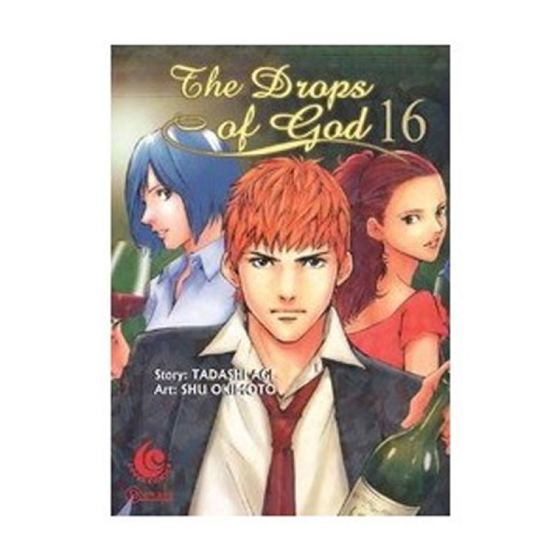 Grazera The Drops of God Vol 16 by Tadashi Agi Buku Komik