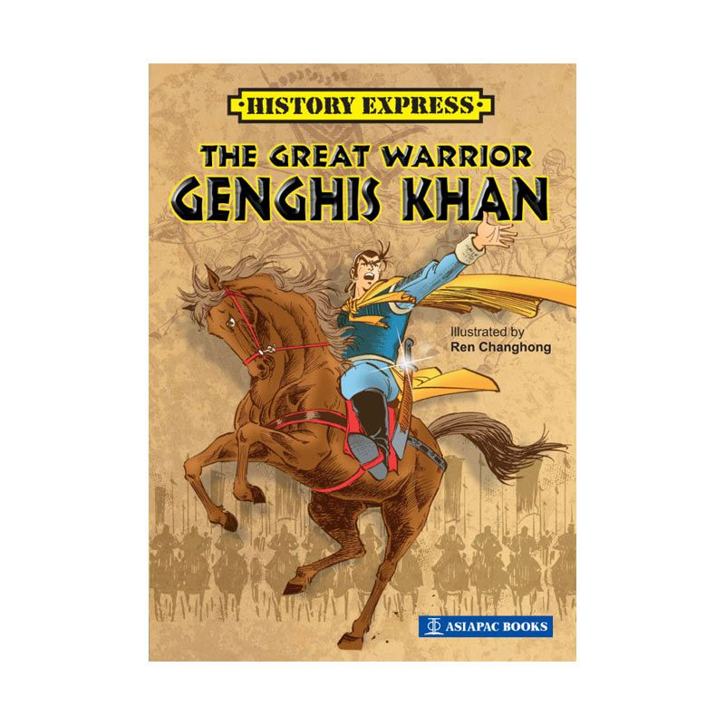 Grazera The Great Warrior Genghis Khan oleh Ren Changhong Buku Komik