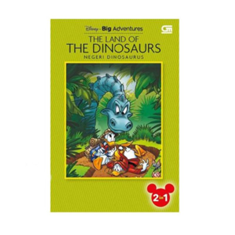 Grazera The Land of The Dinosaurs dan The Sword of Ice by Disney Buku Fiksi