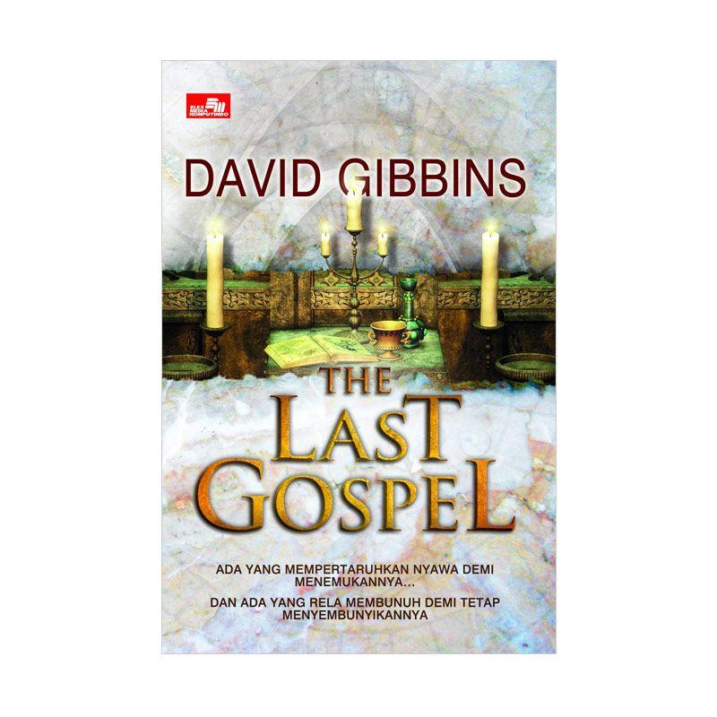 Grazera The Last Gospel by David Gibbins Buku Fiksi