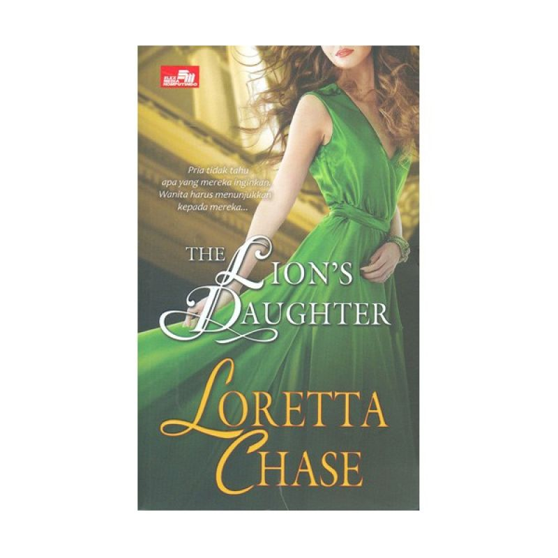 Grazera The Lions Daughter by Loretta Chase Buku Fiksi