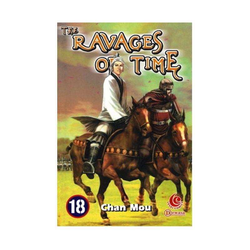 Grazera The Ravages of Time Vol 18 by Chan Mou Buku Komik