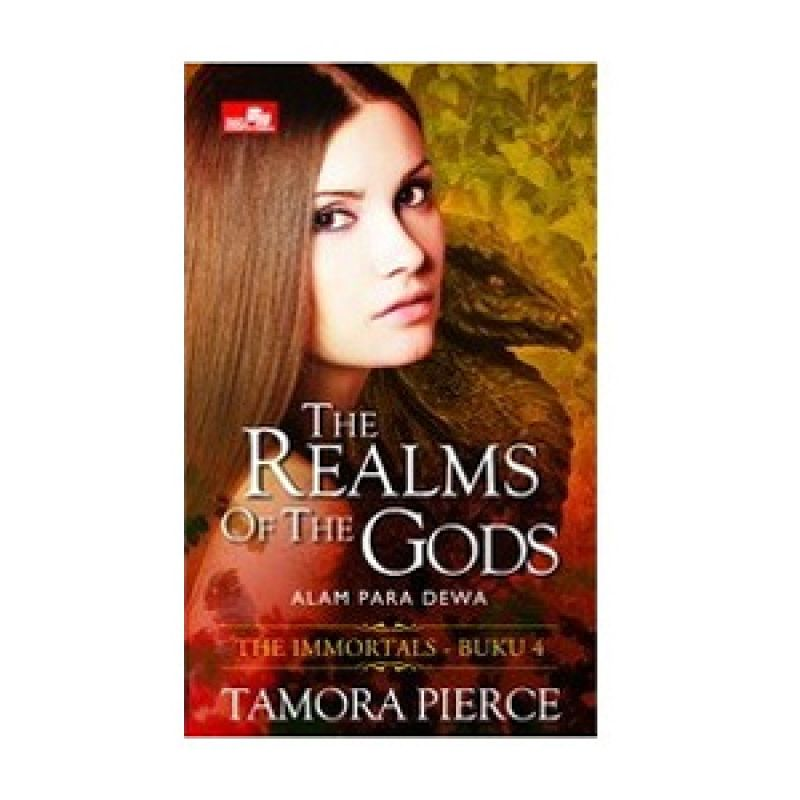 Grazera The Realms of The Gods by Tamora Pierce Buku Fiksi