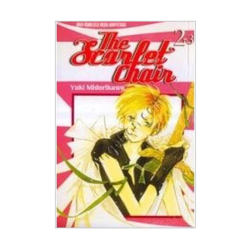 Grazera The Scarlet Chair Vol 02 by Yuki Midorikawa Buku Komik