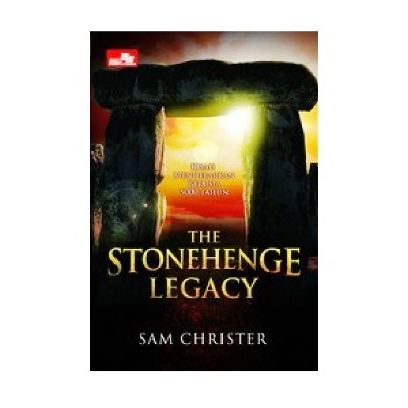 Grazera The Stonehenge Legacy by Sam Christer Buku Fiksi