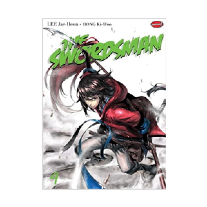 Grazera The Swordsman Vol 04 by Lee Jae-Hoon & Hong Ki-Woo Buku Komik