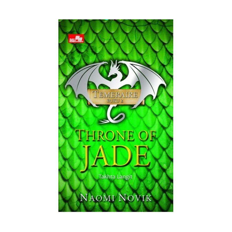 Grazera Throne of Jade by Naomi Novik Buku Fiksi