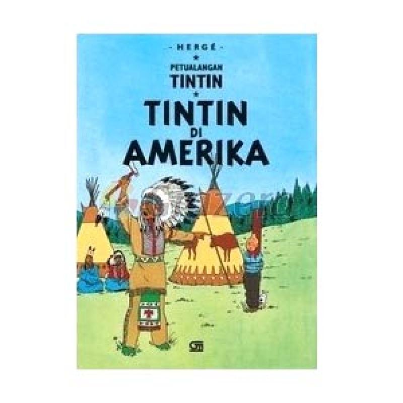 Grazera Tintin di Amerika by Herge Buku Komik